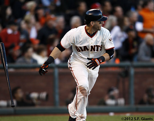 sf giants, san francisco giants, photo, nlcs game 6, 10/21/2012, MARCO SCUTARO