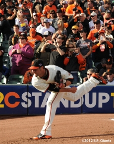 sf gaints, san francisco giants, photo, 10/21/2012, nlcs game 6, ryan vogelsong