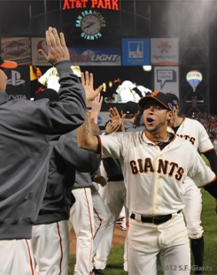 sf giants, san francisco giants, photo, nlcs game 6, 10/21/2012, TEaM, GREGOR BLANCO