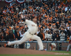 San Francisco Giants, S.F. Giants, photo, 2012, NLCS, Fans, Ryan Vogelsong