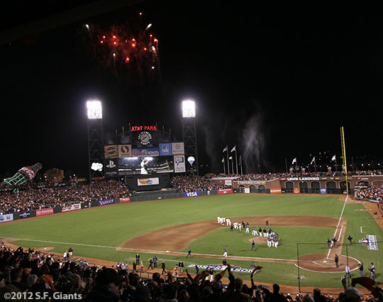 sf gaints, san francisco giants, photo, 10/21/2012, nlcs game 6, win