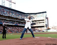 San Francisco Giants, S.F. Giants, photo, 2012, NLCS, Kenny Lofton
