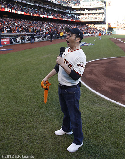 San Francisco Giants, S.F. Giants, photo, 2012, NLCS, Rob Schneider