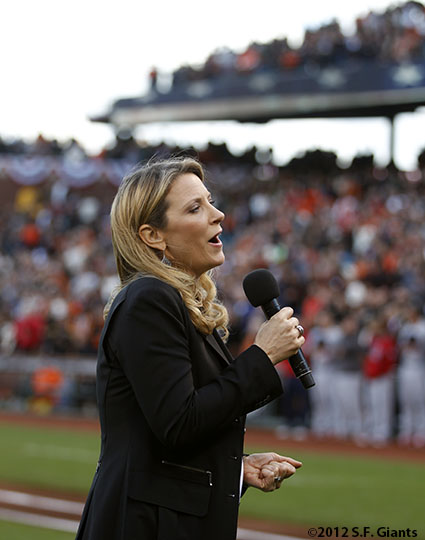 San Francisco Giants, S.F. Giants, photo, 2012, NLCS, Susan Tedeschi