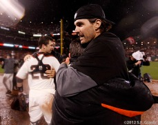 San Francisco Giants, S.F. Giants, photo, 2012, NLCS, Barry Zito
