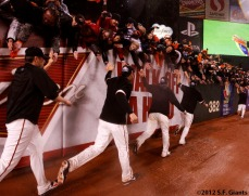 San Francisco Giants, S.F. Giants, photo, 2012, NLCS, fans