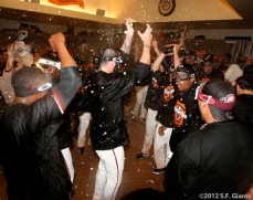 The team celebrates