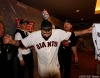 San Francisco Giants, S.F. Giants, photo, 2012, NLCS, Sergio Romo and Dave Groeschner