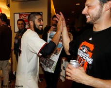 Sergio Romo and Clay Hensely