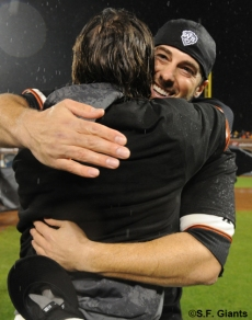 sf giants, san francisco giants, photo, 10/22/2012, nlcs game 7, clinch, george kontos