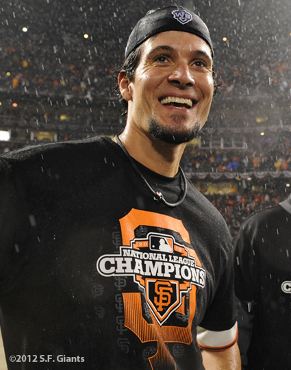 sf giants, san francisco giants, photo, 10/22/2012, nlcs game 7, clinch, javeir lopez