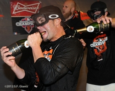 San Francisco Giants, S.F. Giants, photo, 2012, NLCS, Ryan Vogelsong and Matt Cain