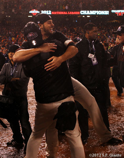 San Francisco Giants, S.F. Giants, photo, 2012, NLCS, George Kontos
