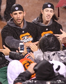Madison Bumgarner & Tim Lincecum