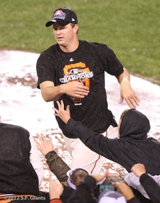 San Francisco Giants, S.F. Giants, photo, 2012, NLCS, Matt Cain