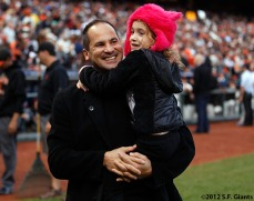 San Francisco Giants, S.F. Giants, photo, World Series, Omar Vizquel