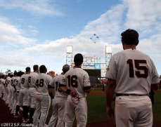San Francisco Giants, S.F. Giants, photo, 2012, World Series, Fly Over