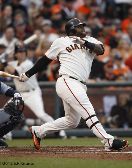 sf giants, san francisco giants, photo, 10/24/2012, world series game 1, pablo sandoval