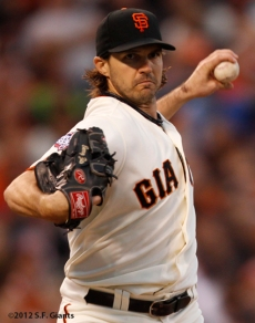 sf giants, san francisco giants, photo, 10/24/2012, world series game 1, barry zito
