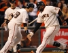 sf giants, san francisco giants, photo, 10/24/2012, world series game 1, marco scutaro, pablo sandoval