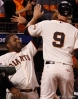 sf giants, san francisco giants, photo, 10/24/2012, world series game 1, pablo sandoval, brandon belt
