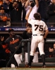 sf giants, san francisco giants, photo, 10/24/2012, world series game 1, barry zito, fans
