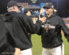 Eli Whiteside & Barry Zito