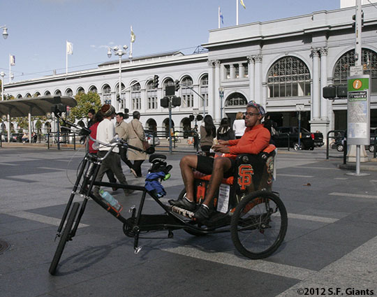 San Francisco Giants, S.F. Giants, photo, 2012, World Series, Ferry Plaza