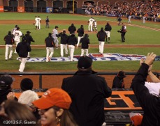 San Francisco Giants, S.F. Giants, photo, 2012, World Series, Team