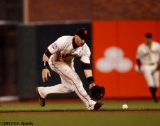 San Francisco Giants, S.F. Giants, photo, 2012, World Series, Marco Scutaro
