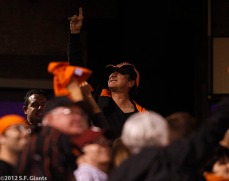 San Francisco Giants, S.F. Giants, photo, 2012, World Series, Steve Perry