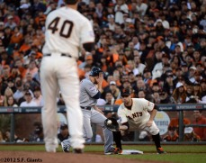 San Francisco Giants, S.F. Giants, photo, 2012, World Series, Brandon Belt