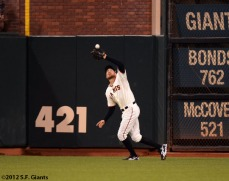 San Francisco Giants, S.F. Giants, photo, 2012, World Series, Hunter Pence