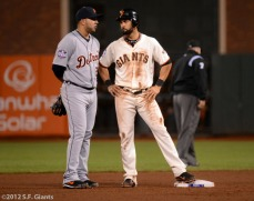 Omar Infante and Angel Pagan