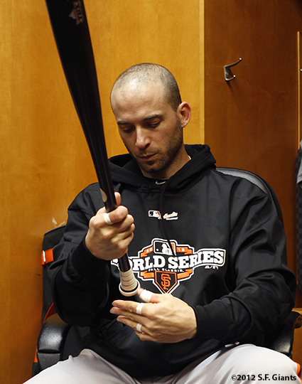 sf giants, photo, 10/26/2012, world series, marco scutaro