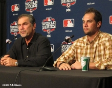 sf giants, photo, 10/26/2012, world series, bruce bohcy, ryan vogelsgon