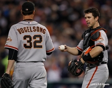 Ryan Vogelsong & Buster Posey