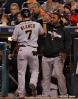sf giants, photo, 10/27/2012, world series, game 3, pablo sandoval, gregor blanco