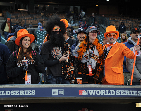 sf giants, photo, 10/27/2012, world series, game 3, fans