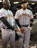 sf giants, photo, 10/27/2012, world series, game 3, roberto kelly, hector sanchez
