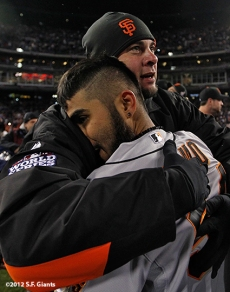 Sergio Romo and Ryan Vogelsong
