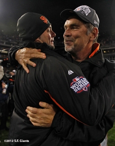 Ryan Vogelsong and Bruce Bochy