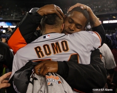 Sergio Romo and Santiago Casilla