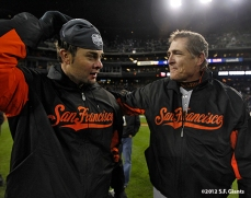 Ryan Vogelsong and Dave Righetti
