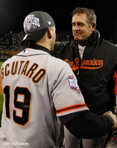 Marco Scutaro and Dave Righetti