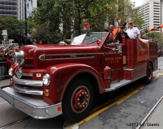 Alumni Fire Truck