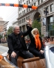 sf giants, san francisco giants, photo, 10/31/2012, parade, fans, brain sabean