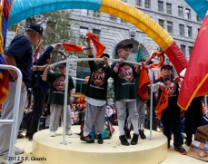 Jr. Giants On The WBC Float