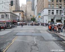 sf giants, san francisco giants, photo, 10/31/2012, parade, fans