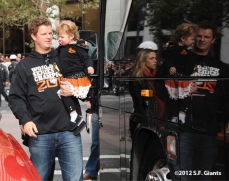 sf giants, san francisco giants, photo, 10/31/2012, parade, matt cain